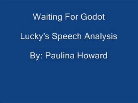 Analysis Of Waiting For Godot - 1497 Words Bartleby